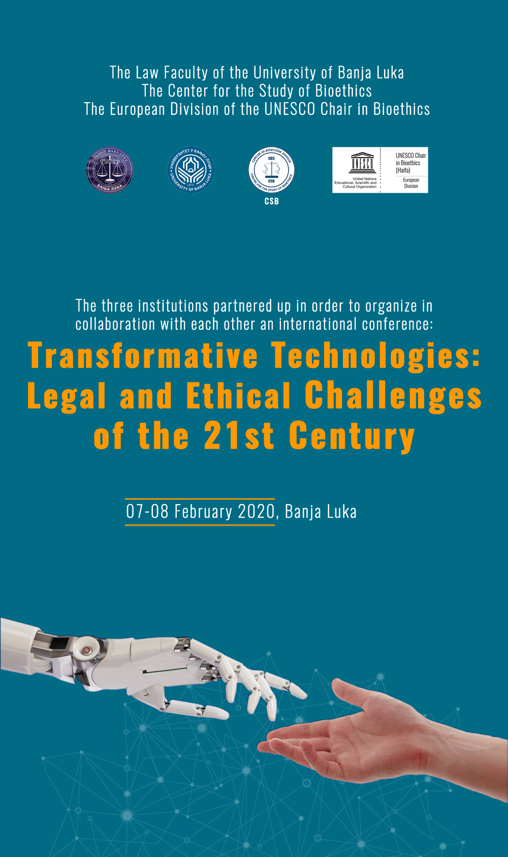 Transformative Technologies: Legal and Ethical Challenges of the 21st Century